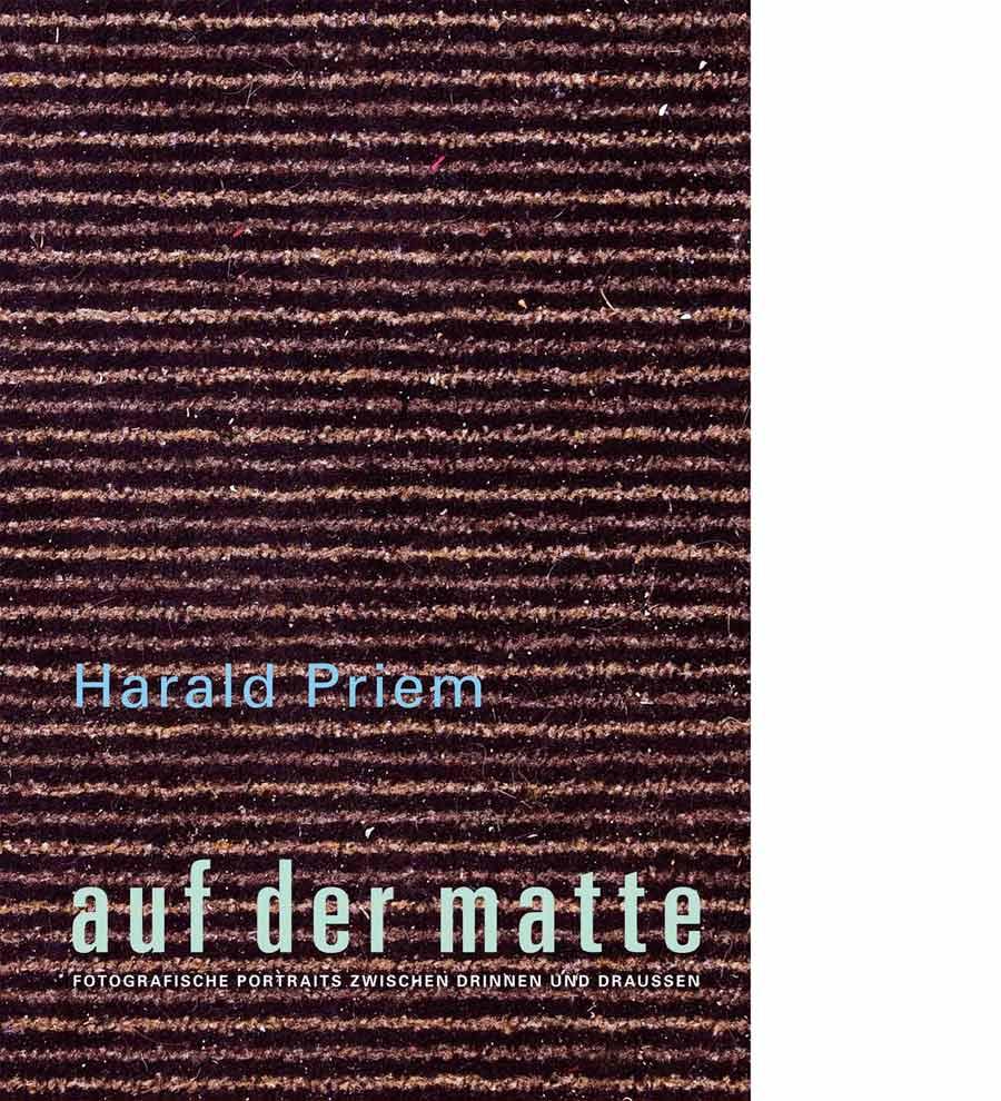 Vorderseite Katalog Harald Priem. auf der matte