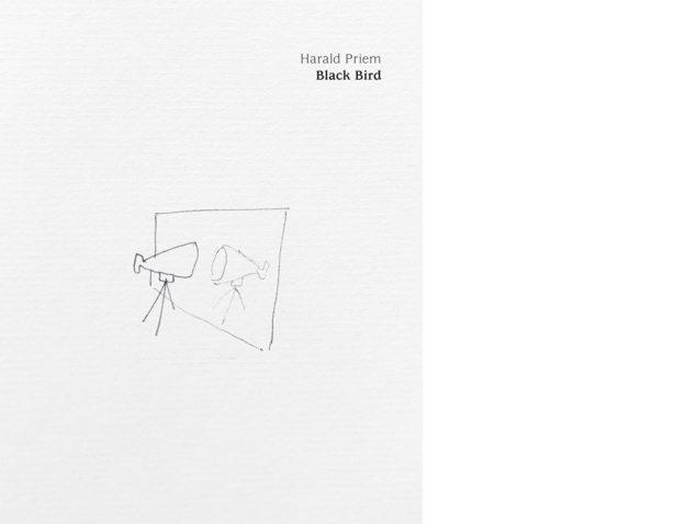 Vorderseite Katalog Harald Priem. Black Bird