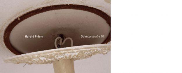 Vorderseite Katalog Harald Priem. Daimlerstrasse