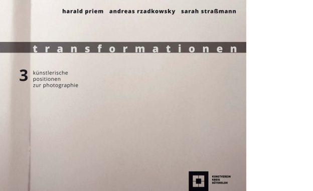 Vorderseite Katalog Harald Priem. transformationen